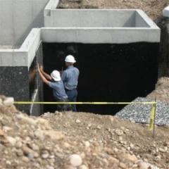 Хидроизолация на основи на жилищна сграда