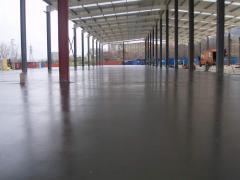 Направа на шлайфан бетон