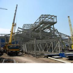 Монтаж на стоманени конструкции