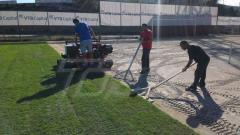 Изграждане на спортни терени
