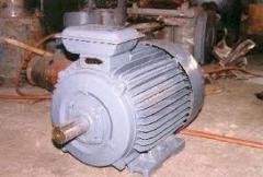 Ремонт на  асинхронни двигатели