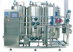 Автоматични CIP инсталации за цялостно измиване на