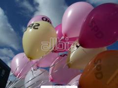 Нанасяне на лого върху въздушни балони