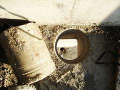 Diamond drilling of apertures