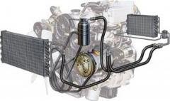 Maintenance of car air conditioners