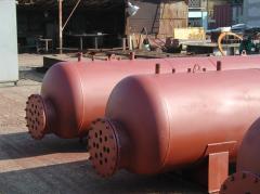 Проектиране, изработка и монтаж на съдове под налягане