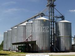 Фумигация на зърно в силози и плоски складове