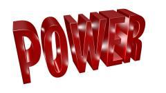 Триизмерно лого - 3D лого MAX Power