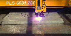 Плазмено рязане на метали с Microstep CNC PLS