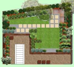 Проектиране на градински ландшафт