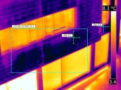 Термографски анализ на бизнес сграда