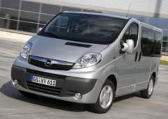 Opel Vivaro- 2007 8+1 места