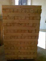 Бичене на дървен материал на ишлеме
