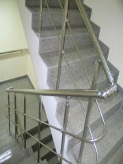 Монтаж на иноксови парапети и огради