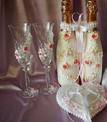 Сватбен ритуален комплект, колекция Roses