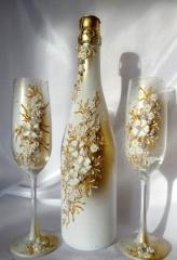 Сватбен ритуален комплект, колекция Gold