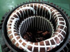 Ремонт на  асинхронни електродвигатели монофазни и