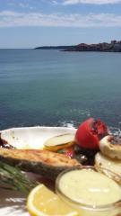 Черноморски риби и деликатеси от морски дарове