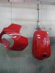 Works body and painting