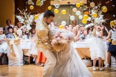 Първи сватбен танц в студио Ет Мачибо