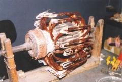 Ремонт на електродвигател