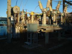Installation of transformer substations